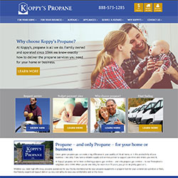 Koppy's Propane Website