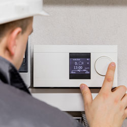 Here for you with heating system service if you need it